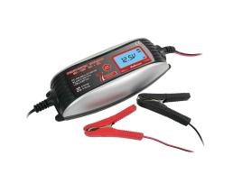 Зарядно устройство ,Токоизправител за автомобилен акумулатор CarCommerce цифрово 6V/2A 12V/4A 1бр.