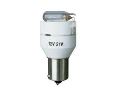 Крушка със звуков сигнал Amio пееща със зумер за заден ход 12V 21W 1бр.