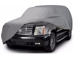 Покривало за автомобил SUV/VAN ARO, XXL 508x178x119cm., двойно подсилено и подплатено, Сивo, XXL 1бр.