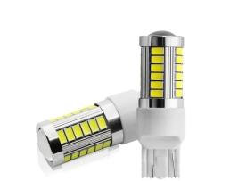 LED Крушки комплект T20 / W21W 2броя бели 1кт.