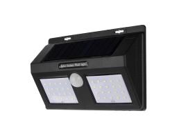 LED Диодна Соларна Градинска лампа Vertex 40 LED, С PIR Датчик 1бр.
