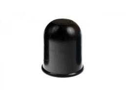 Защитна капачка за ябълка теглич Amio 55 мм Черна пластмасова 1бр.