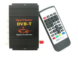 Цифров телевизионен приемник за кола и дома, DVB-T, MPEG-4, до 140-190 км/ч на автомобила 1кт.