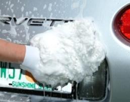 Ръкавица шенилна микрофибърна за измиване на автомобила 1бр.