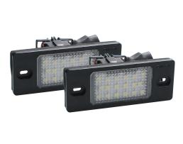 Осветление за регистрационния номер M-Tech ,Диодно, VW.Audi 1бр.