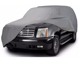 Покривало за автомобил SUV/VAN ARO, M 432x165x119cm., двойно подсилено и подплатено, Сивo, M 1бр.