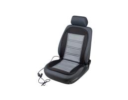 Калъфи за седалки Automax Постелка за предна седалка с подгрев за автомобила/офиса сива 12V 35 / 45W  9781 1бр.