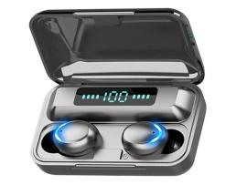 Безжични bluetooth 5.0 слушалки F9 -5С TWS , черни 1кт.
