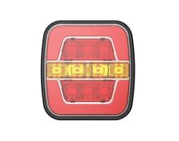 Стоп диоден Amio RCL-05-LR, за каравани ремаркета бусове и др., 1 брой, 02370 1бр.