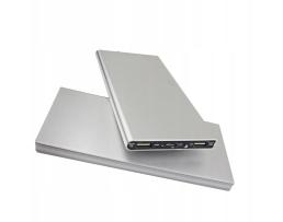 Външна батерия R-2 Power Bank 20000 mAh A2 с 2 USB порта водоустойчива сива 1бр.