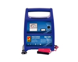 Зарядно устройство ,Токоизправител за автомобилен акумулатор Automax 00382, 8A, 12V, с индикация 1бр.