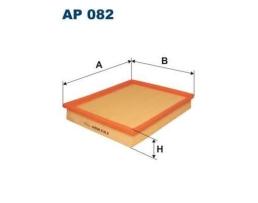 Въздушен филтър за DAEWOO: Nexia, Espero  OPEL: Kadett 1.8i, 1.8GSi, 1.8i kat.; FIAAM PA 7131, Filtron AP 082, MA666, WA50-381, WFP-74.21 1бр.