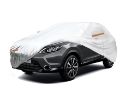 Покривало за автомобил SUV/VAN Amio, XL 510x185x150cm. двойно подсилено и подплатено, Сивo, XL 1бр.