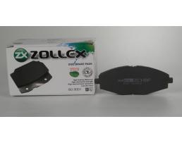 Накладки за предни дискови спирачки Zollex ZCH8F, за Daewoo Lanos 1кт.