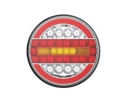 Стоп диоден Amio DYNAMIC LEFT / RIGHT - RCL-07-LR, за каравани ремаркета бусове и др., 02372 1бр.