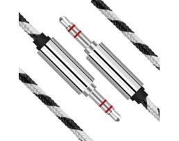 AUX кабел, 3.5мм мъжко + 3.5мм мъжко,1.5M кабел Mini Jack AB-1.5-1.5M 1бр.