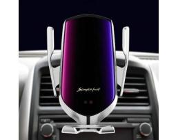Стойка поставка държач безжично зарядно за телефони с 10W Fast Wireless Charger Autoexpress R1,Универсална за кола ,Функция QI 1бр.