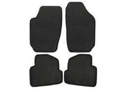 Автомобилни стелки PolGum гумени комплект SEAT Ibiza IV 2008, SKODA Fabia III 2014, VW Polo V 2009 1кт.