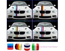 Винилови Стикери за кола Препоръчани за BMW M3 M5 M6 E46 E92- ITALI 1бр.