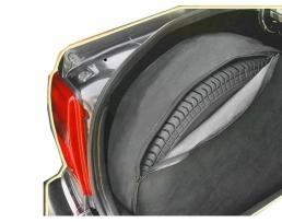 Калъф за съхранение на резервна гума AMIO,В багажника на автомобила,Размер D 65/20 1бр.
