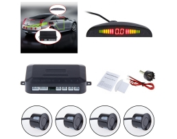 Парктроник с четири черни,сиви и графитни сензора и дисплей 1бр.